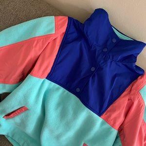 Forever 21, multi color, size medium hoodie !